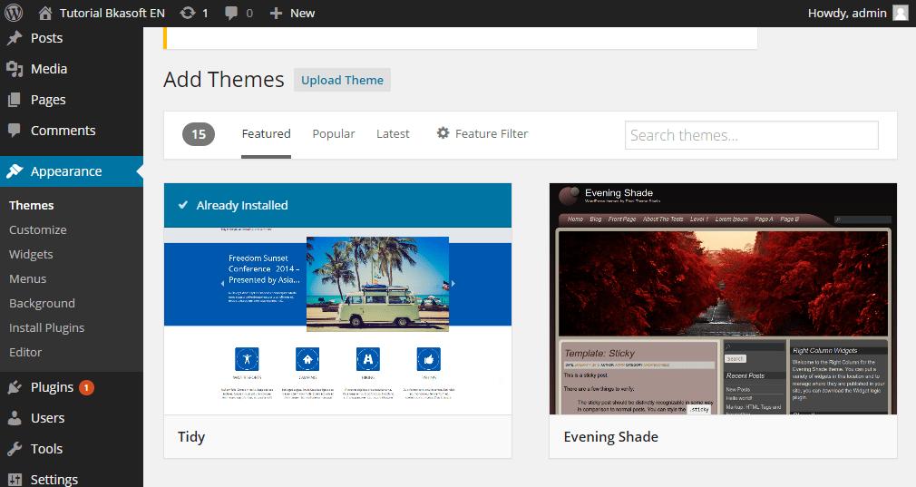 làm sao cài đặt theme wordpress giống demo