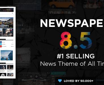 Theme Newspaper – Theme cực đẹp cho trang tin tức