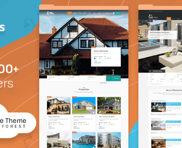 theme real home wordpress