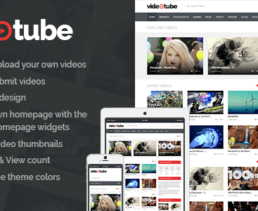 Theme videotube wordpress