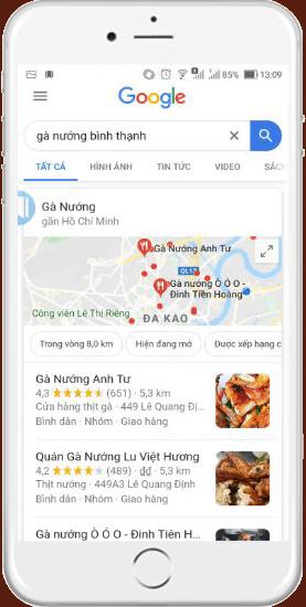cách xác minh địa điểm trên google map