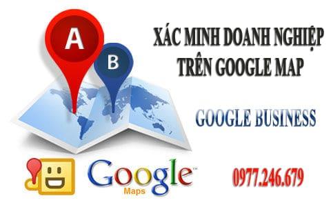 Xác minh doanh nghiệp trên google map