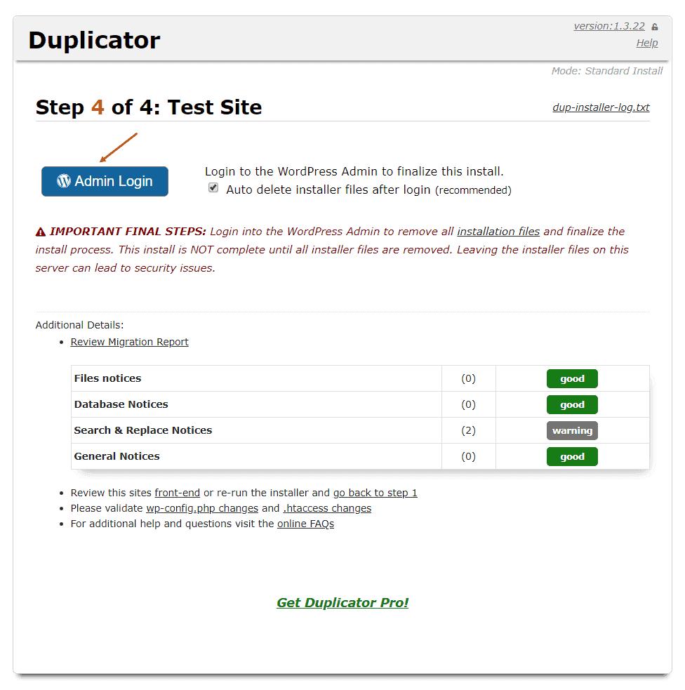 hướng dẫn chuyển domain cũ sang domain mới